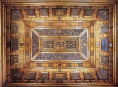 Ceiling of the Studiolo of Isabella d'Este.