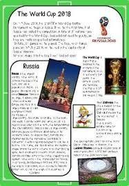Resultado de imagen para russia 2018 reading