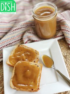 Instant Pot Peach Butter – Four Sisters Dish Peach Jam, Sweet Peach, Instant Pot, Toast Toppers, Peach Butter, Canning Peaches, Butter Ingredients, Butter Recipe, Pressure Cooker Recipes