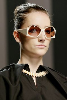 523fd8978a21 Fendi SPRING SUMMER 2013 READY-TO-WEAR CLOSE UP Sunglasses Outlet