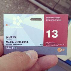 MC Fitti heute im ZDF-Fernsehgarten Mc Fitti, Boarding Pass, Television Tv, Tv