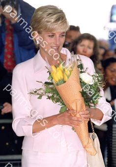 March 19, 1997: Diana, Princess of Wales at the Daily Star Gold Awards ceremony at the Savoy Hotel, London.