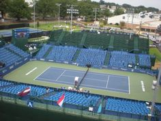 Winston-Salem Open, last stop on the ATP Tour before the U.S. Open in New York