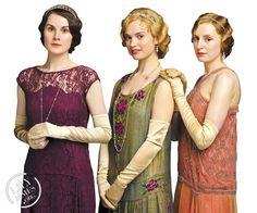 3 Downton girls