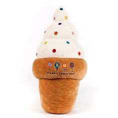 Dylan's Candy Bar Ice Cream Cone Pillow : Cozy Gifts to Warm Hearts