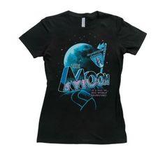 Women's Blue Moon Parkway!  #moon #women #shirts #art #fashion #clothes #shirts #tshirts