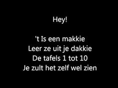 tafellied - YouTube