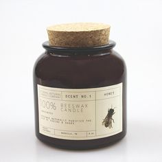 This item is unavailable Honey Packaging, Cool Packaging, Bottle Packaging, Brand Packaging, Pots, Beautiful Candles, Beeswax Candles, Packaging Design Inspiration, Design Ideas