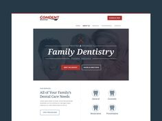 Comdent Dental Web Design (WIP) by Anthony Hatfield