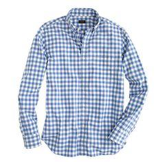 Gingham Shirt J.Crew