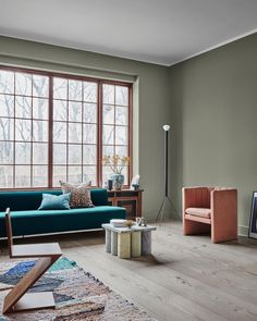 The new Jotun Lady Color Chart 2019 is here and comes in three fantastic new color palettes: Refined, Raw and Calm! Jotun Lady, Trending Paint Colors, Bathroom Paint Colors, Paint Colours, Contemporary Interior Design, Deco Design, Scandinavian Interior, Color Trends, Design Trends