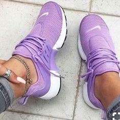 4545418b1429 Light Purple girly Nike Air Presto s are a stylish