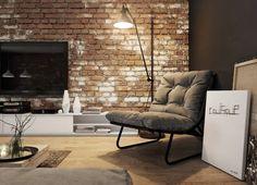La brique décorative pour l'intérieur - quelques exemples
