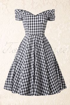 50s gingham dress - Google Search
