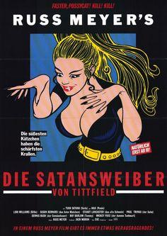 Faster, Pussycat! Kill! Kill! (1965) Russ Meyer (German Film Poster)