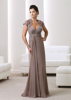 With A Wrap A-line Sweetheart Sleeveless Long Mother Of The Bride Dress