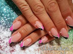 Nail French, Nail Tips, Butterflies, Nail Designs, Nail Art, Colorful Nails, Nail Ideas, French Tips, Nail Desings