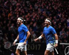 Laver Cup - Complicité de Federer et Nadal - Match 8 - 23 septembre 2017 - Prague