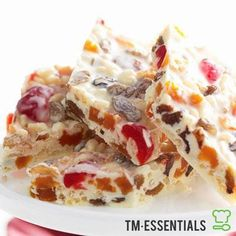 Get your Christmas on with our White Christmas recipe and your Thermomix®. The perfect combination of tradition and nostalgia and great to share with friends and family.Ingredients:60g almonds100g red glace cherries60g sultanas60g dri...