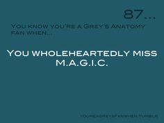 Definitely. I loved Meredith, Alex, George, Izzie, and Cristina together.