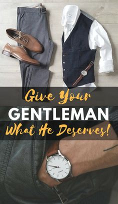 Give your #gentleman what he deserves this #valentinesday! #mensstyle #mensfashion #menswear