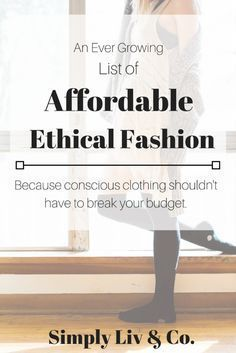 Best Places To Buy *Affordable* Ethical Fashion — Simply Liv & Co. - Best Places To Buy *Affordable* Ethical Fashion — Simply Liv & Co. Ethical Fashion Brands, Ethical Clothing, Fashion Websites, Canadian Clothing Brands, Ethical Shoes, Fast Fashion Brands, Vegan Clothing, Golf Clothing, Fashion Mode