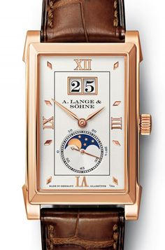 A. Lange & Söhne, Founding Year 1868 Glashütte Germany , Design Model Cabaret, Mondphase , 20.100,-- Euro ( Men ) | juwelier-haeger.de