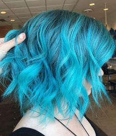 Turquoise hair - Hairstyles For All Turquoise Hair, Teal Hair, Hair Color Blue, Cool Hair Color, Hair Colors, Violet Hair, Bright Hair, White Hair, Blonde Hair