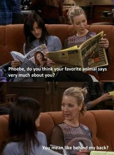I could best friends with Phoebe