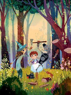 Mágico de Oz// ilustração