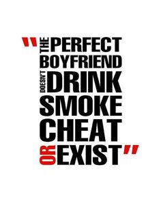 Perfect boyfriend?