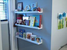 Wall Bookshelves for Nursery