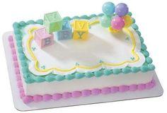 modelos de torta hecho con ponquesitos para baby shower - Buscar con Google