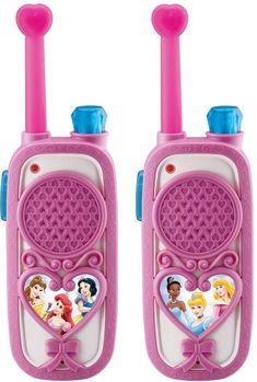 Disney Princess Enchanting FRS Walkie Talkies Disney Princess Enchanting FRS Walkie Talkies Disney P Little Girl Toys, Baby Girl Toys, Toys For Girls, Kids Toys, Baby Dolls, Kids Toy Shop, Toys Shop, Disney Princess Toys, Disney Toys