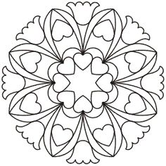 Continuous Line Stencils Archives - Page 10 of 91 - Quilting Creations Mandala Art, Mandala Painting, Mandala Drawing, Stencil Painting, Mandala Pattern, Mosaic Patterns, Mandala Design, Pattern Art, Embroidery Patterns
