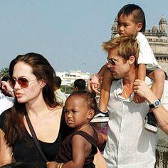 Zahara & Maddox Brad Pitt and Angelina Jolie