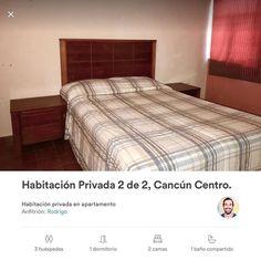 Échale un vistazo a mi anuncio en #Airbnb habitación privada en el centro de Cancún. #Cancún  Check out my ad in #Airbnb a private room in downtown Cancun. #Cancun