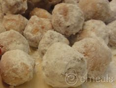 Homemade donut holes-kids love 'em!