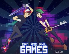 dan and phil fanart - Google Search
