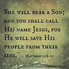 Matthew 1:18-21