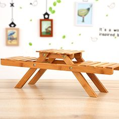 Image result for Indoor Potted Shelf Bamboo Plant Stand On Desk For Succulents Plants Patio Tier Storage Rack, Storage Shelves, Shelf, Folding Coffee Table, Vendor Displays, Indoor Balcony, Bamboo Plants, Wooden Flowers, Flower Stands