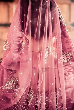 pretty pink for a bridal outfit