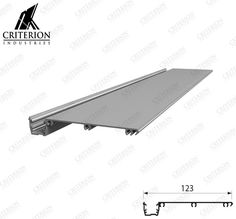 CI-4243 Offset Glazing Adaptor Rion, Glaze, Design, Enamel, Display Window