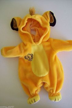 Details about Rare Disney Lion King Water Baby Simba Cub Outfit Doll Size Playmates 2002 - Products I Love - Disney Baby Onesies, Disney Baby Clothes Boy, Disney Baby Costumes, Disney Baby Dolls, Disney Babys, Cute Baby Clothes, Baby Boy Outfits, Kids Outfits, Disney Disney