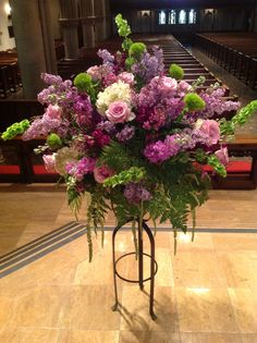Flowers for a renewal of wedding vows