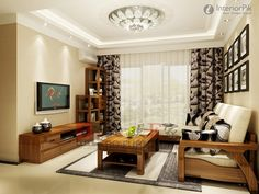 Apartment Living Room With Tv elegant round wall mirror | living rooms, modern and room