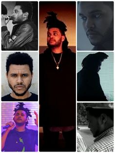 The Weeknd collage
