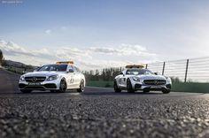 Mercedes-Benz презентовал для Формулы 1 новый автомобиль безопасности и карету экстренной помощи.