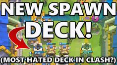 Clash Royale Best Spawn Deck Arena 7 8 9 Winning And Defeating Spawn Clash Royale Deck Spawn
