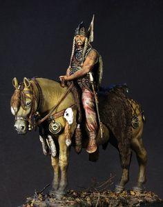 Pegaso Models 75 mm Celtic Cavalry, VIII-VII Century B.C.